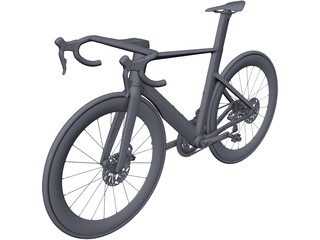 Road Bicycle CAD 3D Model
