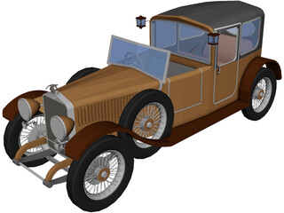 Hispano-Suiza 3D Model