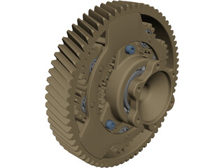 Schaeffler Differential CAD 3D Model