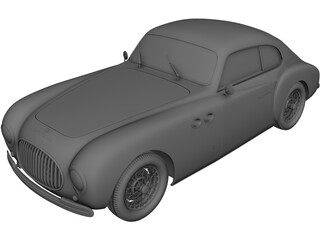 Cisitalia 202 Coupe (1946) 3D Model