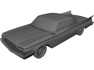Chrysler Saratoga Hardtop Coupe (1960) 3D Model