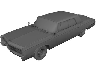 Chrysler Crown Imperial (1965) 3D Model