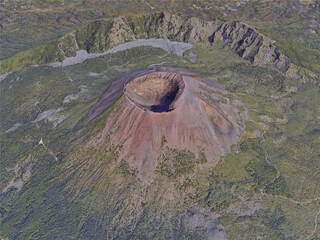 Mount Vesuvius, Naples, Italy (2020) 3D Model