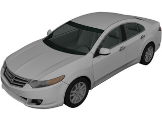Honda Accord Sedan (2009) 3D Model