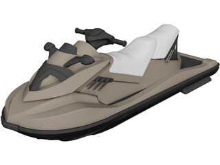 Kawasaki Ultra Jet Ski 3D Model