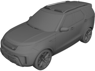 Land Rover Discovery SVR(2019) 3D Model 3D Preview