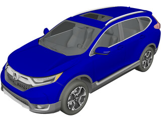Honda CR-V Touring (2020) 3D Model