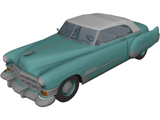 Cadillac Series 62 (1948) 3D Model 3D Preview