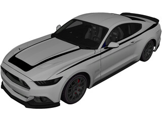 Ford Mustang RTR (2015) 3D Model