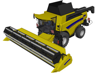 New Holland CX8 3D Model