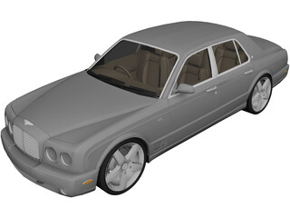 Bentley Arnage (2007) 3D Model