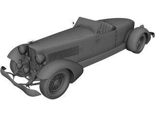 Duesenberg Speedster SJ 3D Model