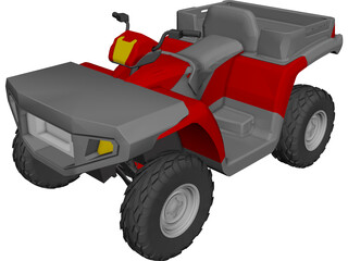Polaris Sportsman 500 ATV 3D Model