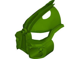 Bionicle Kanohi Miru Nuva Mask 3D Model