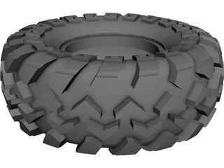 Tire 1.9 Rock Crawling 3D Model
