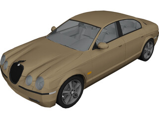 Jaguar S-Type 3D Model