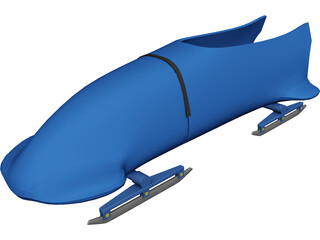 Bobsleigh 3D Model