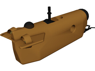 Alliant ROV Submersible 3D Model