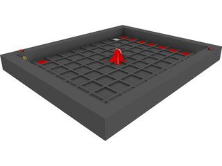 Khet: The Laser Game 3D Model