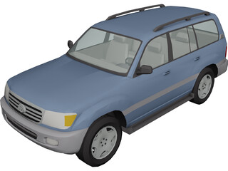 Toyota Land Cruiser (2006) 3D Model