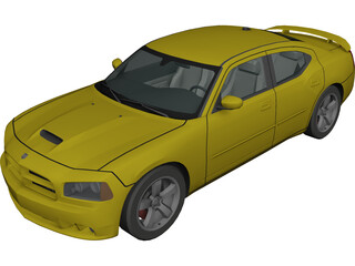 Dodge Charger SRT8 (2007) 3D Model