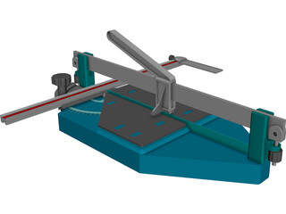 Ceramic Tile Cutter 3D Model