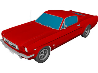 Ford Mustang (1965) 3D Model