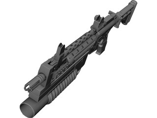 Lr3000 Assault Rifle  3D Model