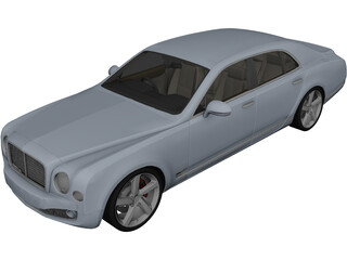 Bentley Mulsanne (2010) 3D Model