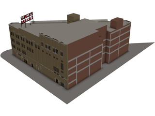 Walker Theatre Indianapolis 3D Model