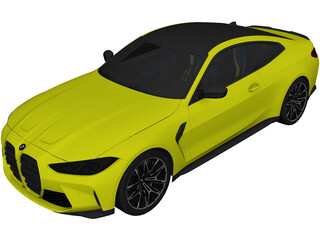 BMW M4 Competition [G82] (2021) 3D Model
