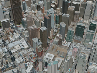 San Francisco City, USA (2020) 3D Model