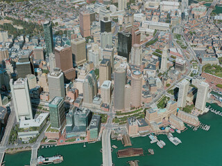 Boston City, USA (2020) 3D Model