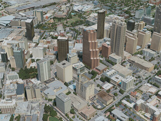Atlanta City, USA (2020) 3D Model