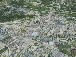 Akron City, USA (2020) 3D Model