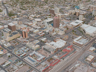 Albuquerque City, USA (2020) 3D Model