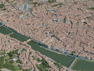 Florence City, Italy (2020) 3D Model
