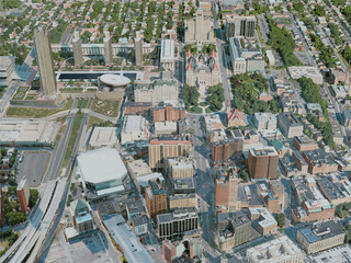 Albany City, USA (2020) 3D Model