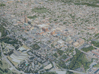 Allentown City, USA (2020) 3D Model