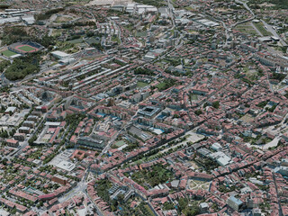 Braga City, Portugal (2020) 3D Model