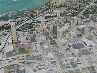 Buffalo City, USA (2020) 3D Model