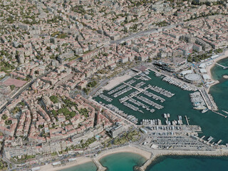 Cannes City, France (2020) 3D Model
