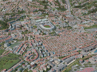 Coimbra City, Portugal (2020) 3D Model
