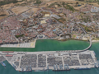Algeciras City, Spain (2020) 3D Model