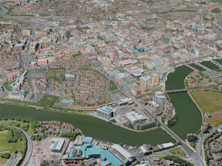 Belfast City, UK (2020) 3D Model