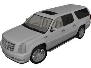 Cadillac Escalade ESV (2008) 3D Model