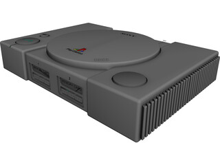Sony Playstation 3D Model