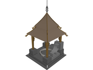 Waterwell 3D Model