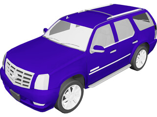 Cadillac Escalade (2007) 3D Model