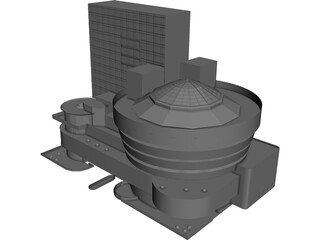 Guggenheim Museum 3D Model 3D Preview